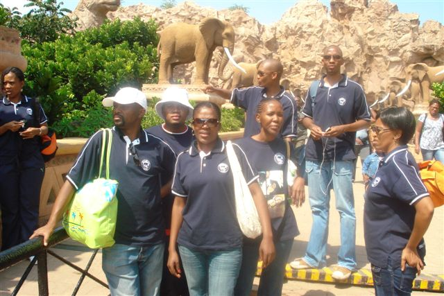 Sun city tour with my workmates!